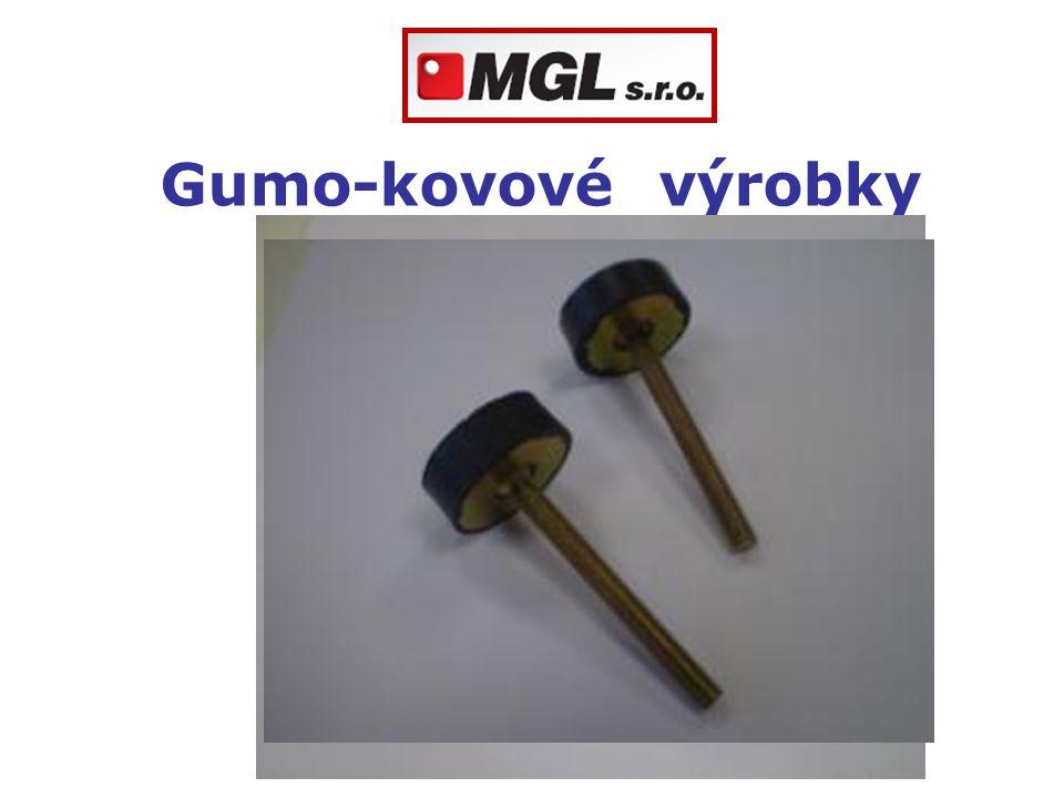 Gumo-kovové výrobky