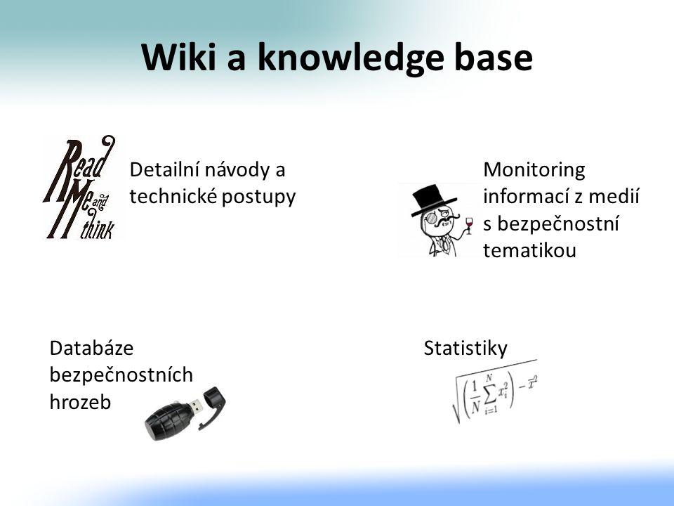 Wiki a knowledge base Detailní návody a technické postupy