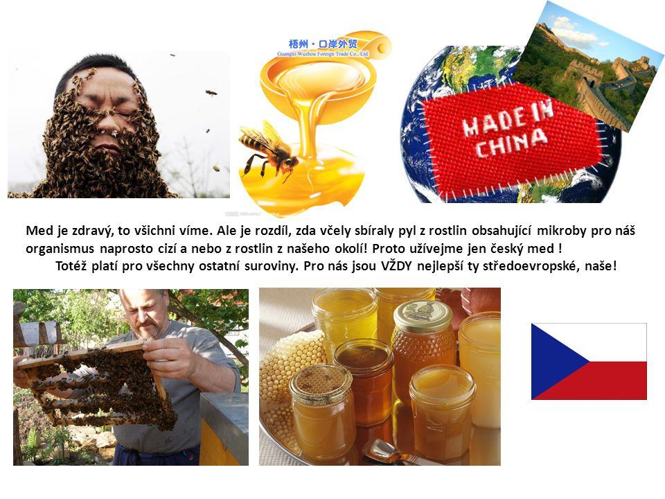 Med je zdravý, to všichni víme