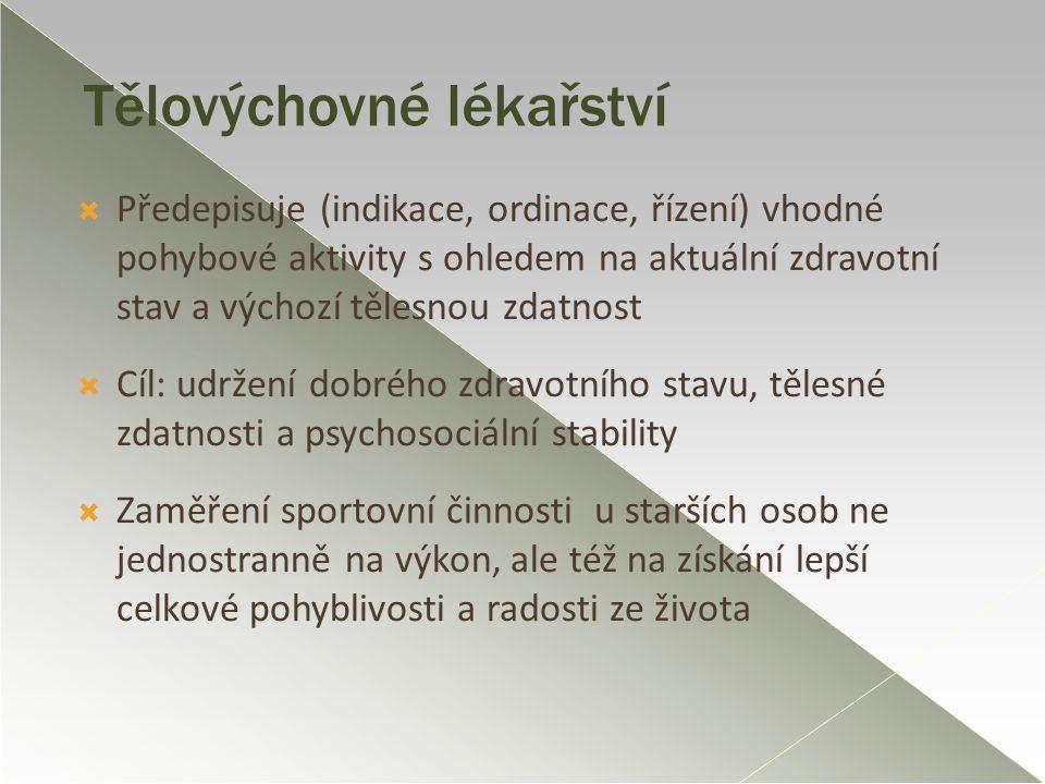 Tělovýchovné lékařství