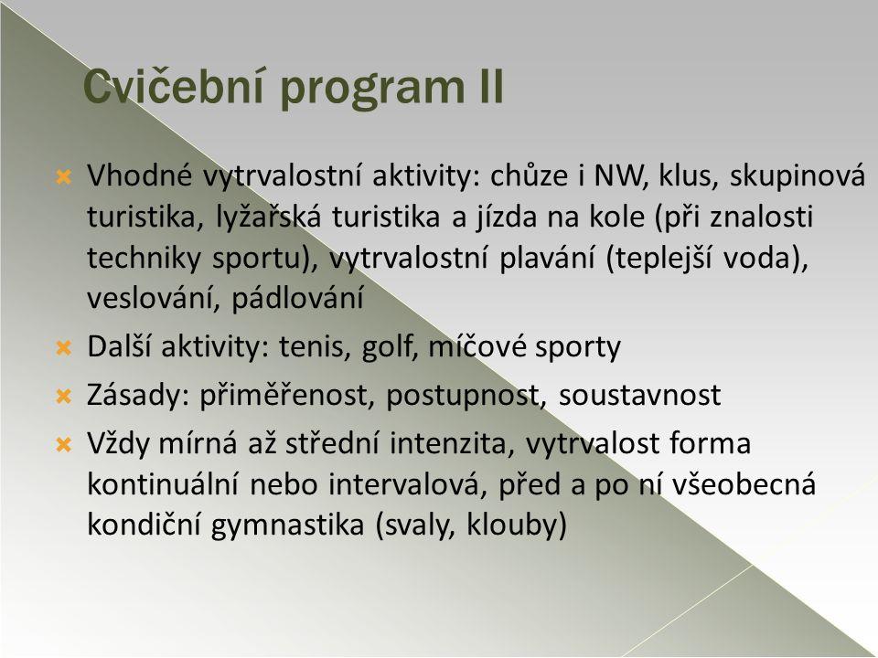 Cvičební program II