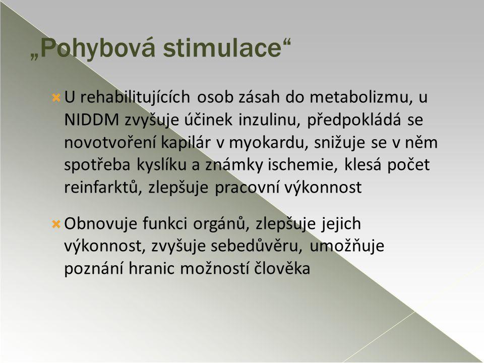 """""""Pohybová stimulace"""