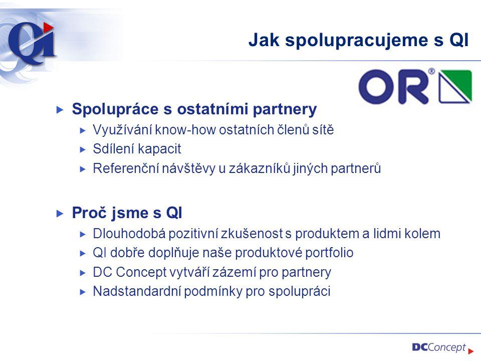 Jak spolupracujeme s QI