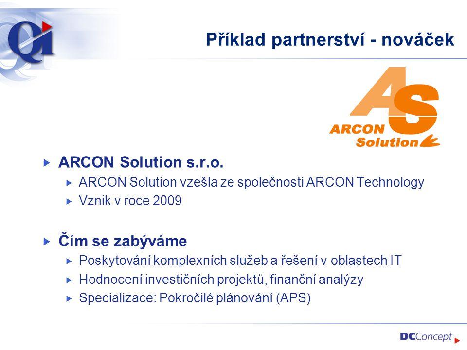 Příklad partnerství - nováček