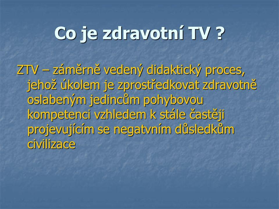 Co je zdravotní TV