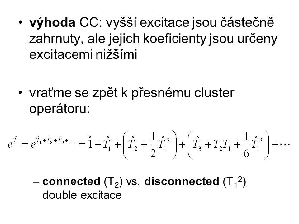 vraťme se zpět k přesnému cluster operátoru:
