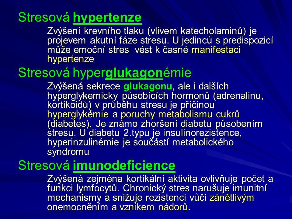 Stresová hyperglukagonémie