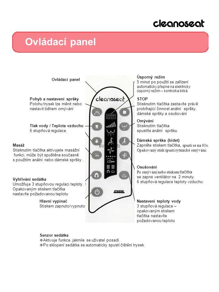 Ovládací panel