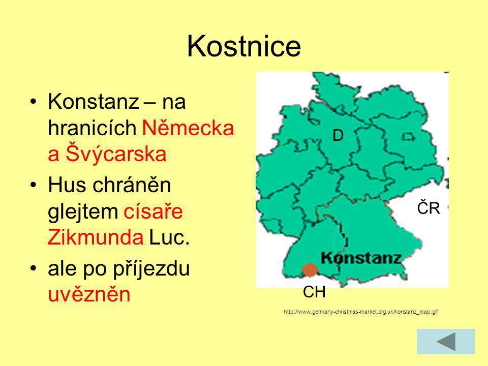 Kostnice Konstanz – na hranicích Německa a Švýcarska