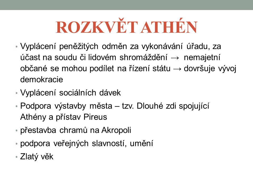 Rozkvět Athén