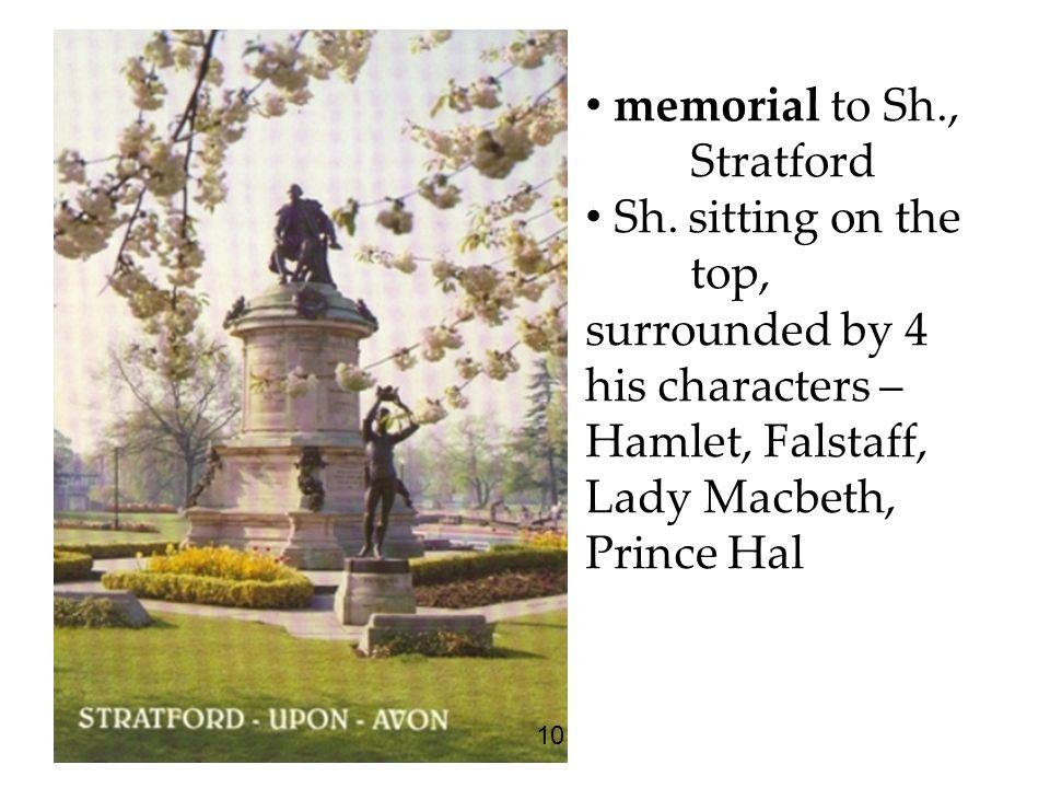 memorial to Sh., Stratford