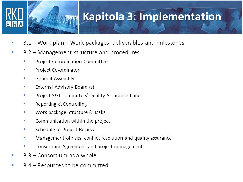Kapitola 3: Implementation