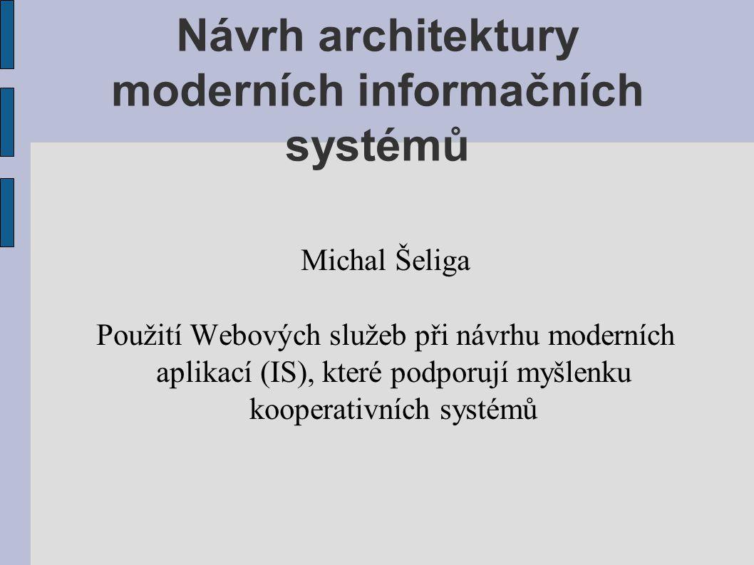 Návrh architektury moderních informačních systémů
