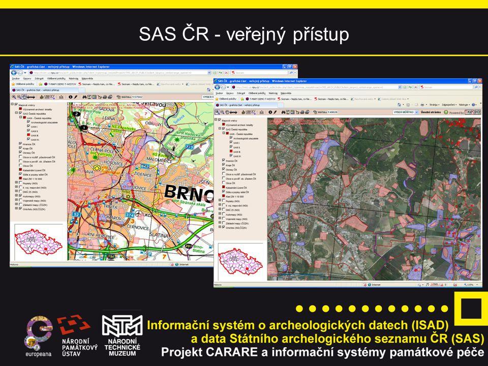 SAS ČR - veřejný přístup