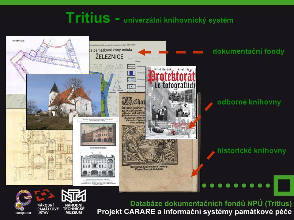 Tritius - univerzální knihovnický systém