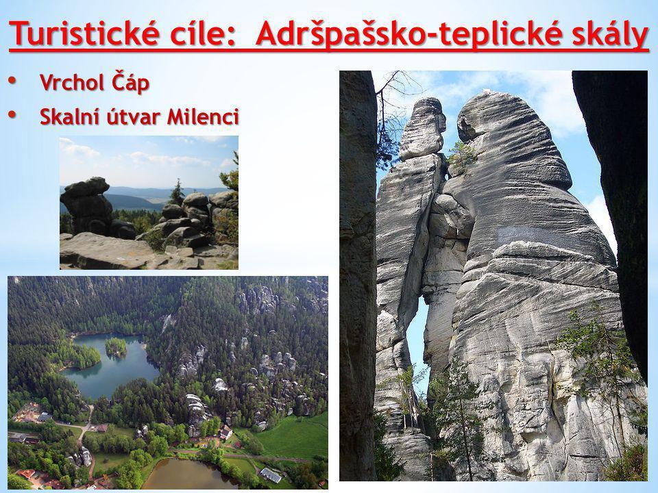 Turistické cíle: Adršpašsko-teplické skály