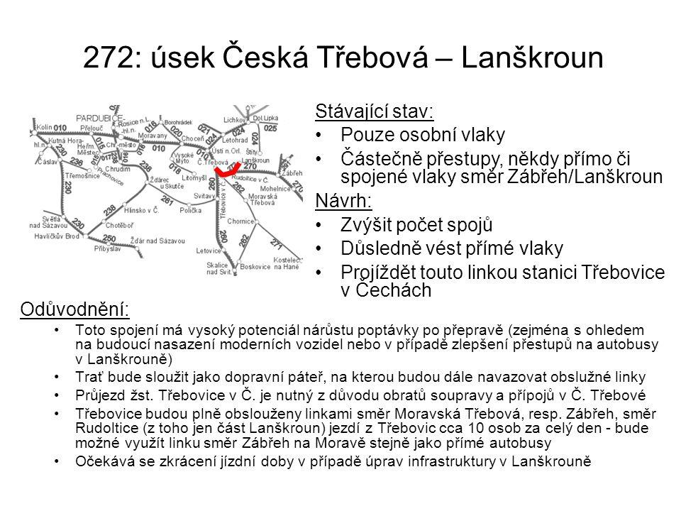 272: úsek Česká Třebová – Lanškroun