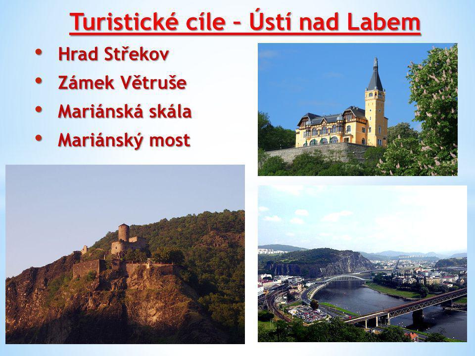 Turistické cíle – Ústí nad Labem