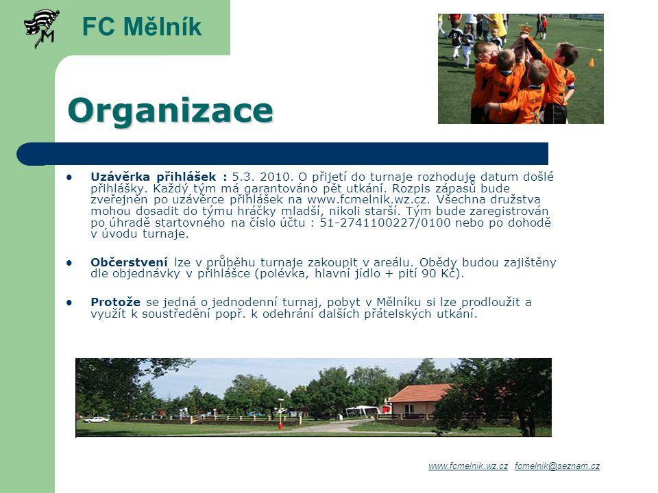 FC Mělník Organizace.