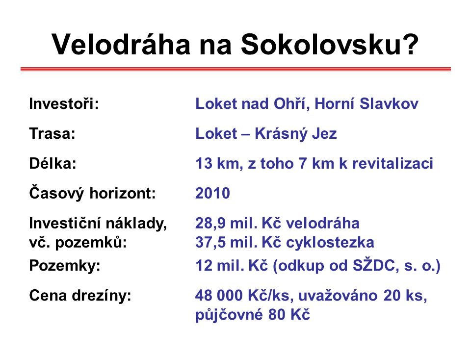Velodráha na Sokolovsku