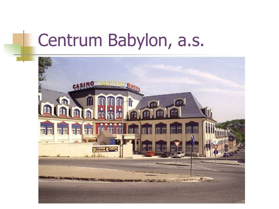Centrum Babylon, a.s.
