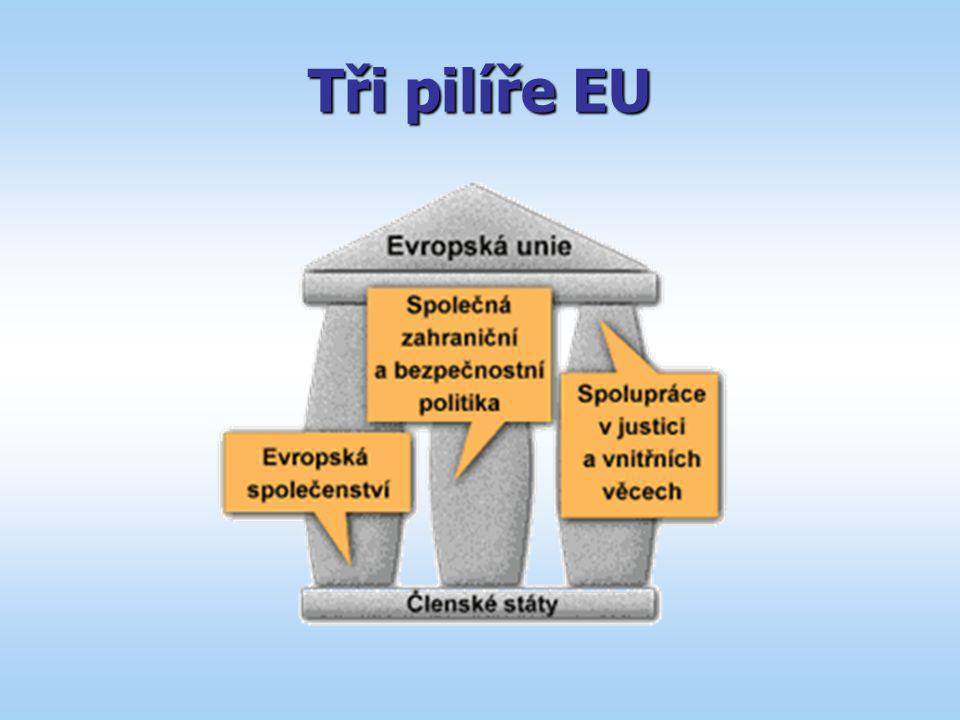 Tři pilíře EU