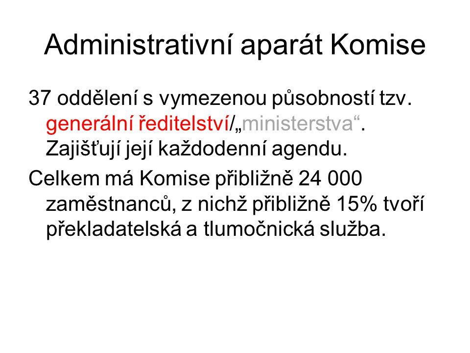 Administrativní aparát Komise