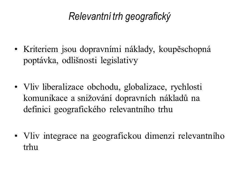 Relevantní trh geografický