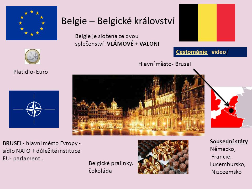 Belgie – Belgické království