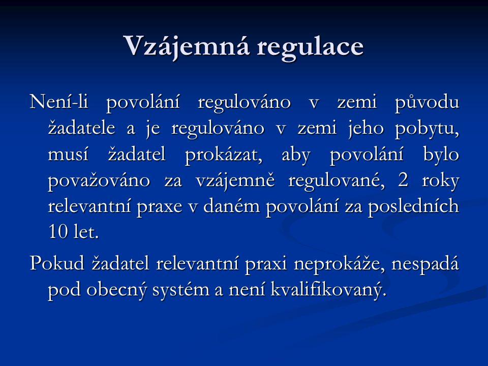Vzájemná regulace
