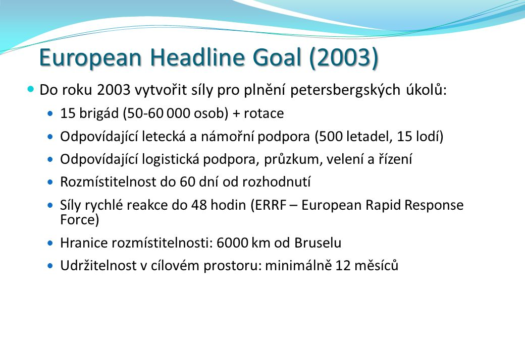 European Headline Goal (2003)