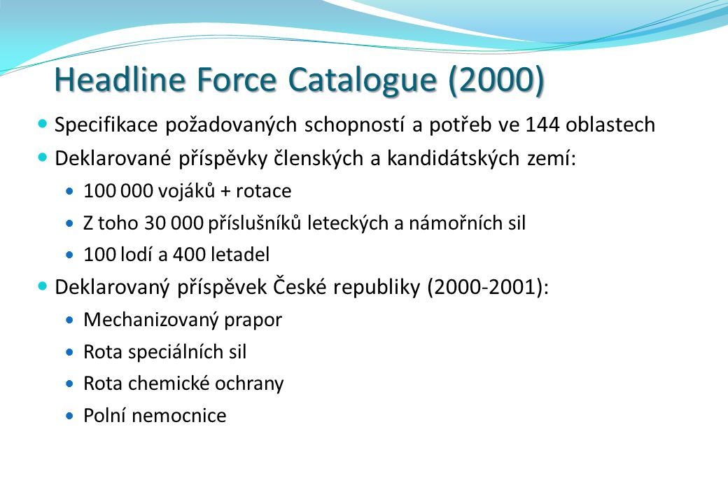 Headline Force Catalogue (2000)