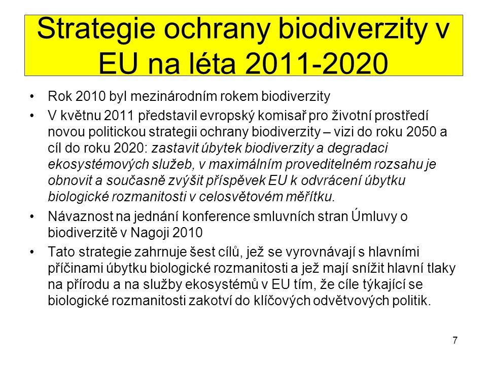 Strategie ochrany biodiverzity v EU na léta 2011-2020