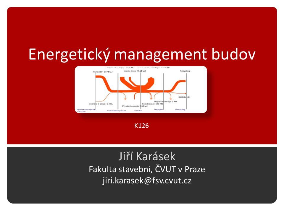 Energetický management budov