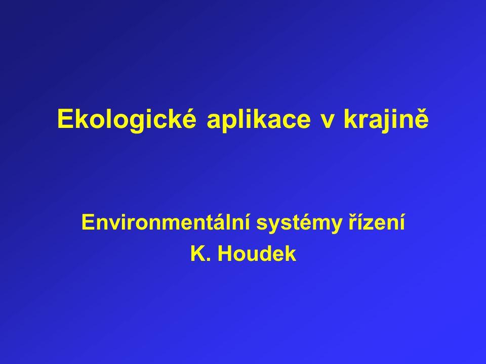 Ekologické aplikace v krajině