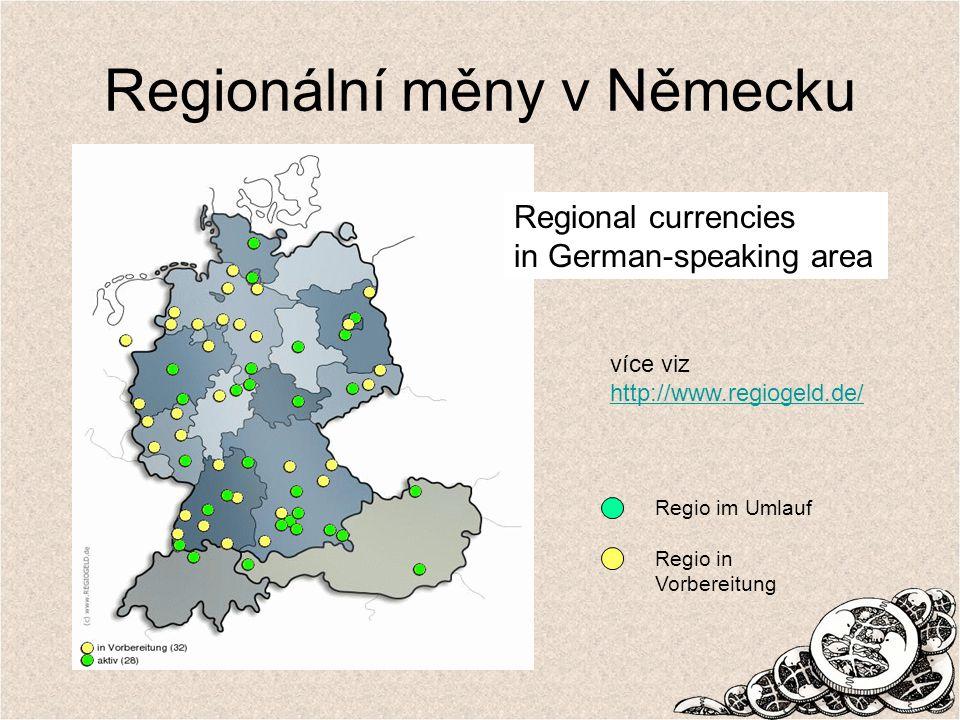 Regionální měny v Německu