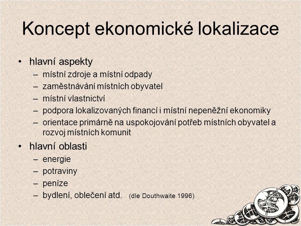 Koncept ekonomické lokalizace