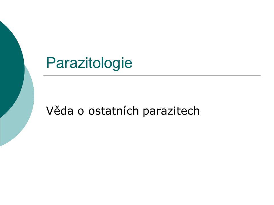 Věda o ostatních parazitech