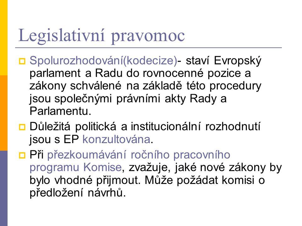 Legislativní pravomoc