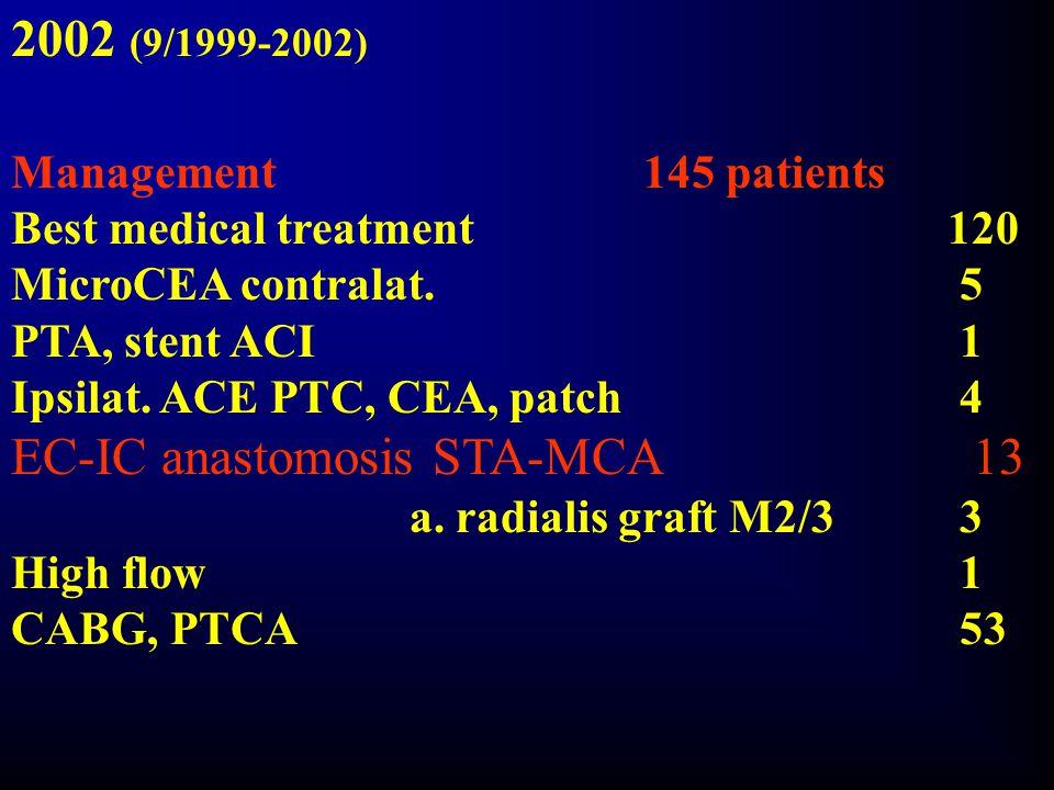 EC-IC anastomosis STA-MCA 13