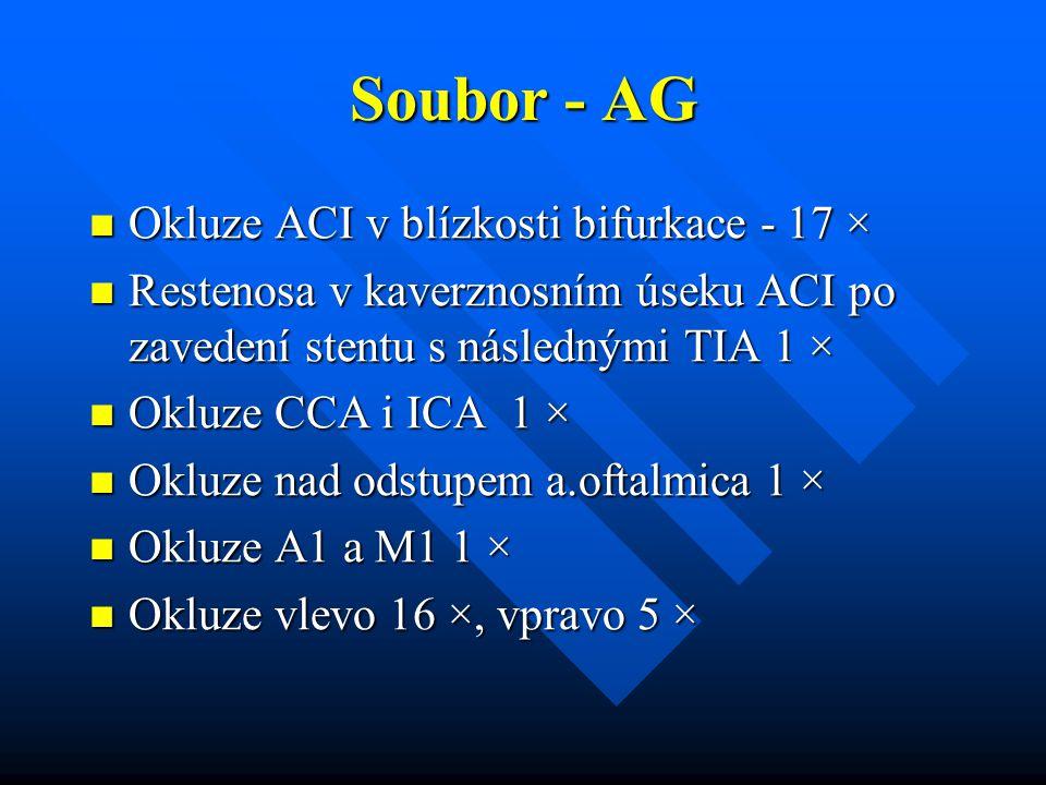 Soubor - AG Okluze ACI v blízkosti bifurkace - 17 ×