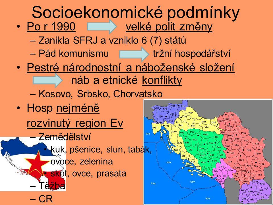 Socioekonomické podmínky
