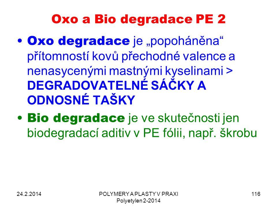 POLYMERY A PLASTY V PRAXI Polyetylen 2-2014