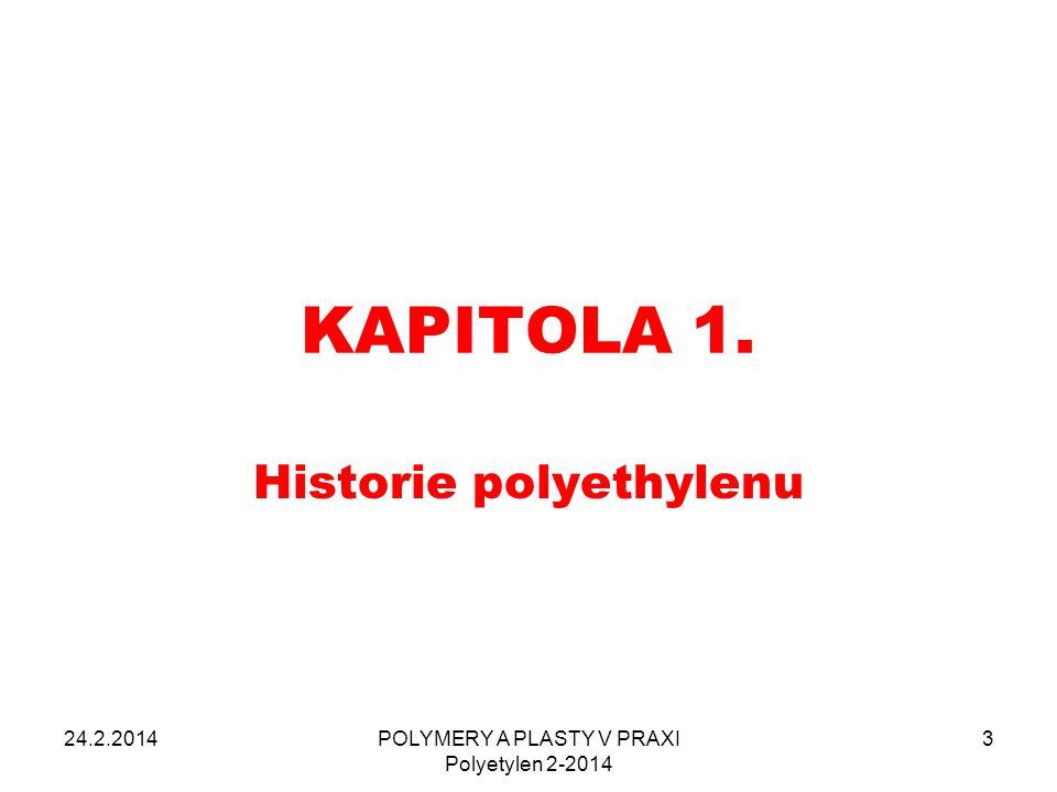 Historie polyethylenu