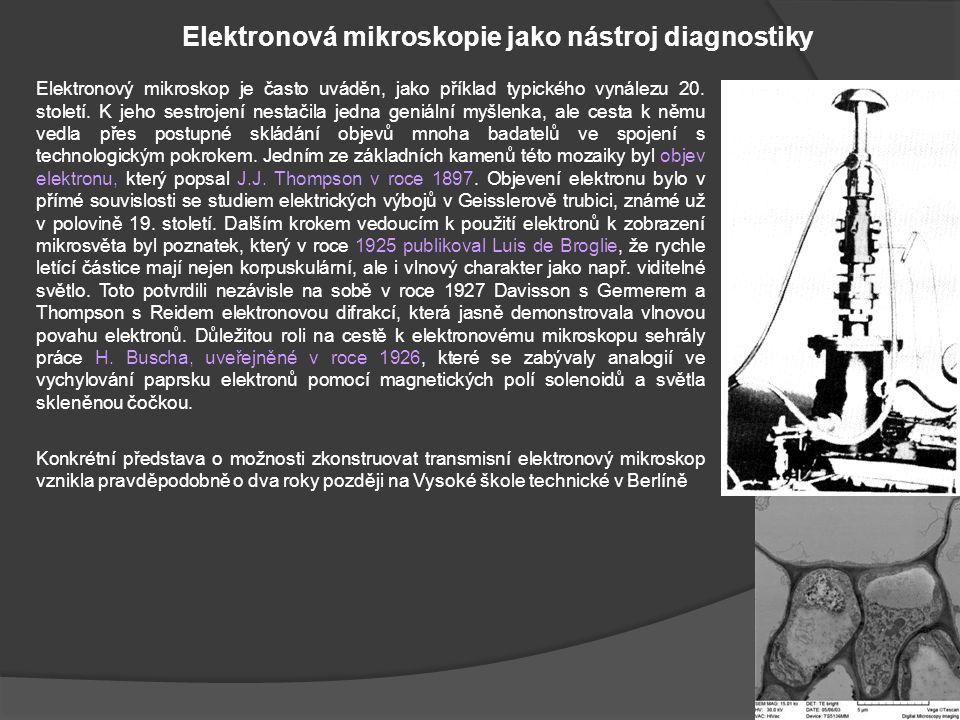 Elektronová mikroskopie jako nástroj diagnostiky