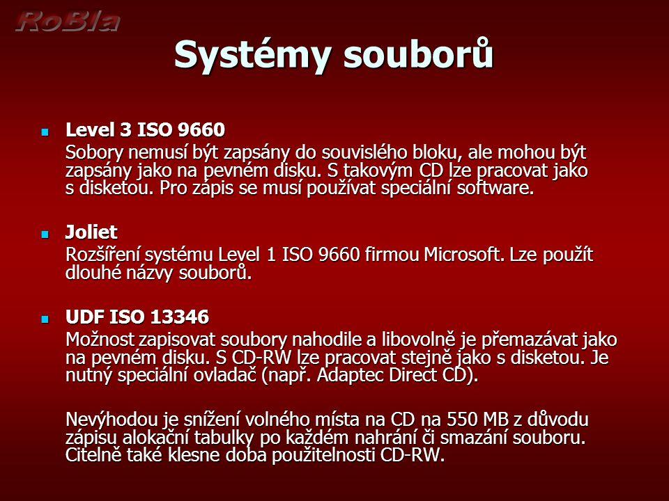 Systémy souborů Level 3 ISO 9660