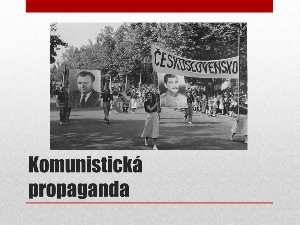 Komunistická propaganda