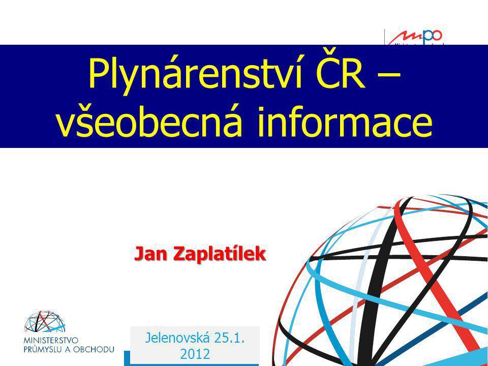 Plynárenství ČR – všeobecná informace