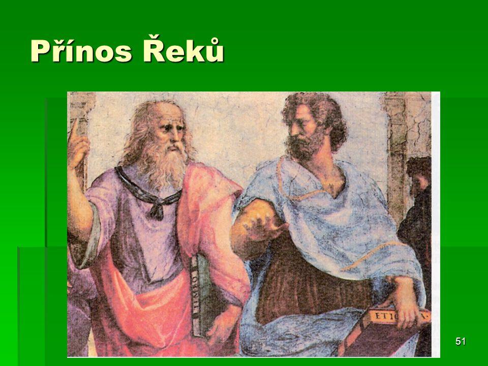 Přínos Řeků