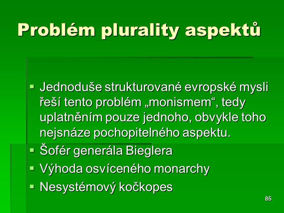Problém plurality aspektů